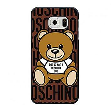 6efab0e5a Marca de lujo Moschino - Teléfono Móvil Moschino - Love Heart Logo móvil  Moschino - Bosquejo funda/carcasa para Samsung Galaxy S6: Amazon.es:  Electrónica