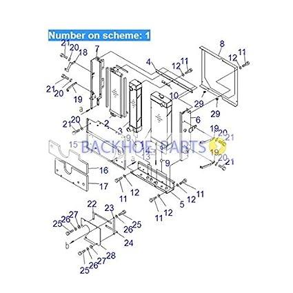 """5 PACK Keystone® 219 Battery Clip 1.687/"""" Battery Size 101-158"""