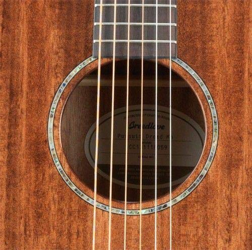 Breedlove PURSUIT DREAD MAH Pursuit Dreadnought Mahogany Acoustic-Electric Guitar Mahogany Top ()