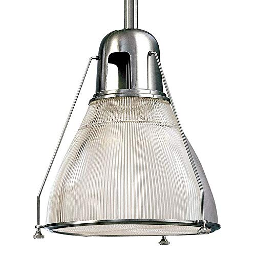 "Hudson Valley Lighting 7308-PN One Light Pendant from The Haverhill Collection, 8"", Polished Nickel"