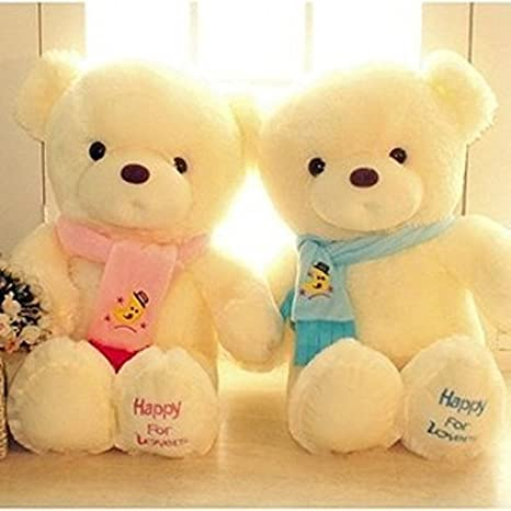 Amazon.com: Genuine Hug Teddy Bear Urso de pelucia Plush Toys 30cm Children Ai Taidi Scarf Bear Teddy Bear Gift Plush Dolls Brinquedos: Baby