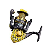 RG Super Hard Fishing Reels Left/Right Interchangeable Saltwater Professional All Metal Strong Corrosion Resistance Double Bearing High Speed Spinning Reel-High End Design For Sale
