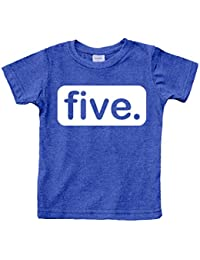 5th Birthday Shirt boy 5 Year Old boy Birthday boy Shirt 5 Five Gifts Fifth Shirts