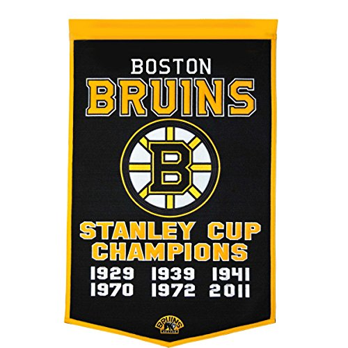 Winning Streak NHL Boston Bruins Dynasty Banner