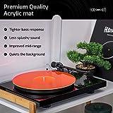 Acrylic Turntable Mat - RedLit