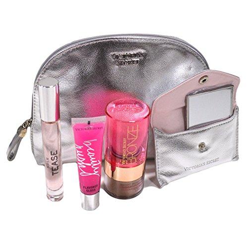 Powder Victorias Secret (Victoria's Secret Hot Summer Nights Beauty Essentials Kit (Silver Noir Tease))