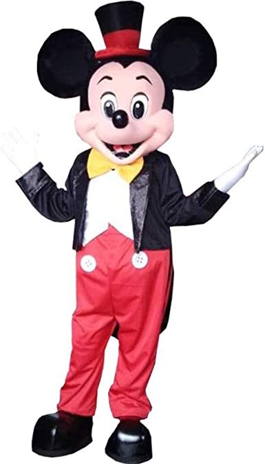 Cartoon Character Mouse Mascot Costume Suit Halloween Party Adult Fancy Dress US