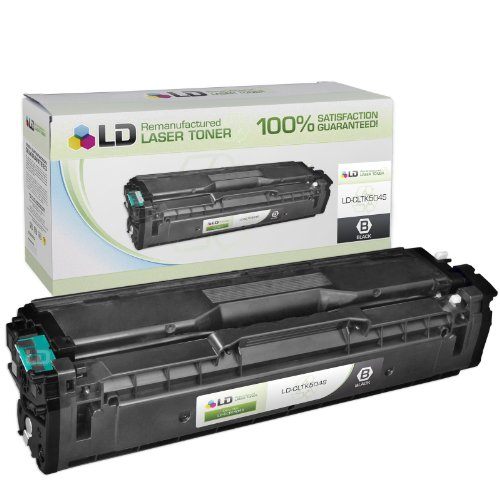 LD © Compatible Replacement for Samsung CLT-K504S Black Laser Toner Cartridge for use in Samsung CLP-415NW, CLX-4195FN, CLX-4195FW, SL-C1810W, and SL-C1860FW Printers