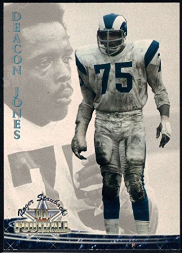 Deacon Jones Nfl (Football NFL 1994 Ted Williams Roger Staubach's NFL #30 Deacon Jones NM-MT LA Rams)