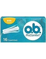 o.b. ProComfort® Normal tampons met Dynamic Fit™ -technologie en SilkTouch oppervlak, voor ultiem comfort* en betrouwbare bescherming, 16 stuks per verpakking