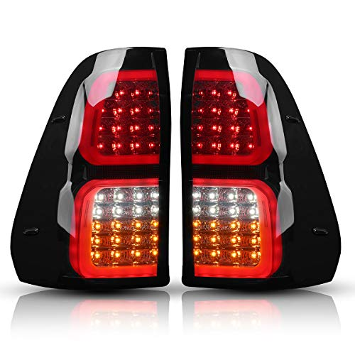SCITOO fit 1995-2016 Toyota Tacoma High Mount Brake Light Red Lens LED Light LED 3rd Brake Light Cargo Light
