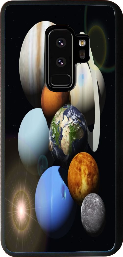 Rikki Knight Cell Phone Cases for Samsung Galaxy S9 Plus - Solar System Planets Design