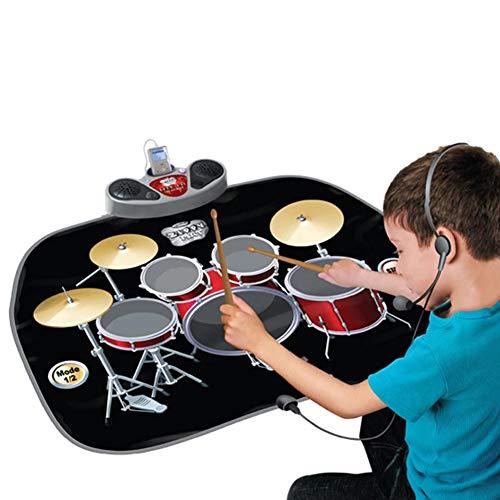 Beauti-chen Kinder Spielmatte für Jazz Trommel Multifuntkionale Faltbare Pädagogische Teppich. (Faltbar)