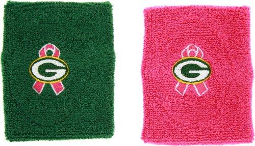 For Bare Feet Green Bay Packers Logo BCA Wristband Set