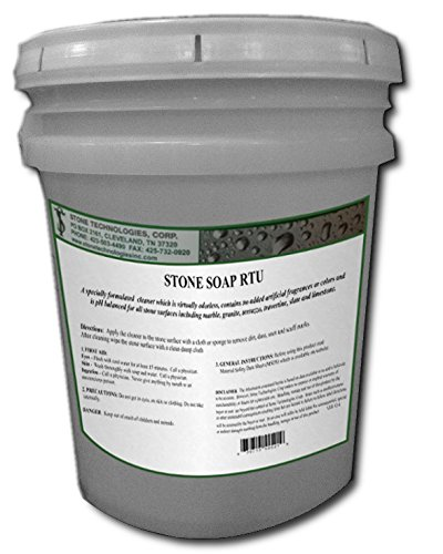 Stone Soap RTU (5 Gallons) ph neutral cleanign compound for marble granite and travertine
