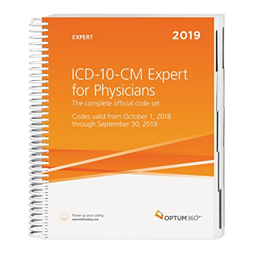 - ICD-10-CM 2019 for Physicians Expert 2019 with Guidelines
