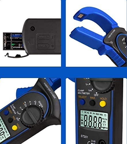ZYL-YL Digital Clamp Meter AC//DC Digital Clamp Multimeter High Precision Voltage and Current Meter