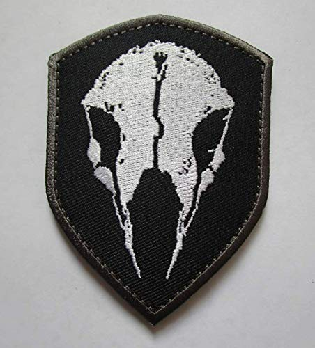 Ghost Recon Wildlands Logo Military Patch Fabric Embroidered Badges Patch Tactical Stickers for Clothes with Hook & Loop