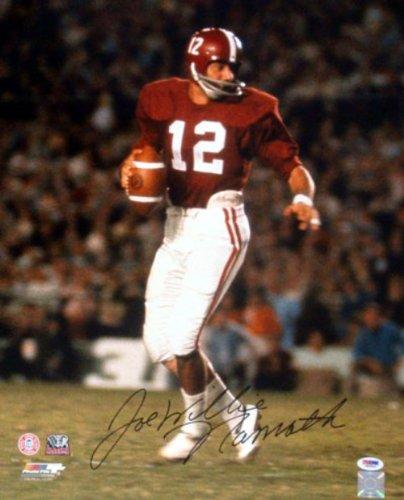 Joe Namath Autographed 16x20 Photo Alabama Crimson Tide  quot Willie quot   ... b8a8a3e23