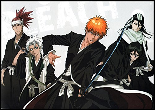 Anime-Wall-Calendar-2018-13-pages-8x11-Bleach-Manga-Anime
