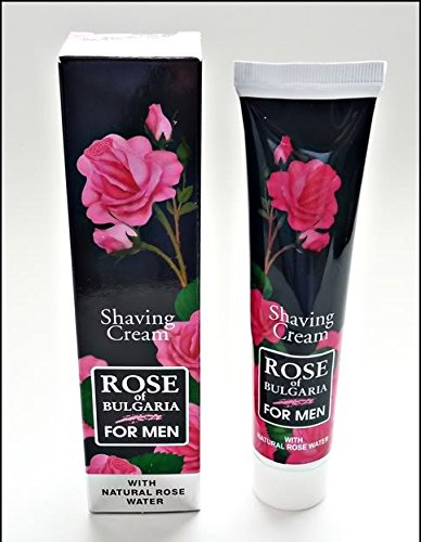 Natural Shaving Cream containing 100% Organic Rose Water - Biofresh - 75ml Bio-Fresh