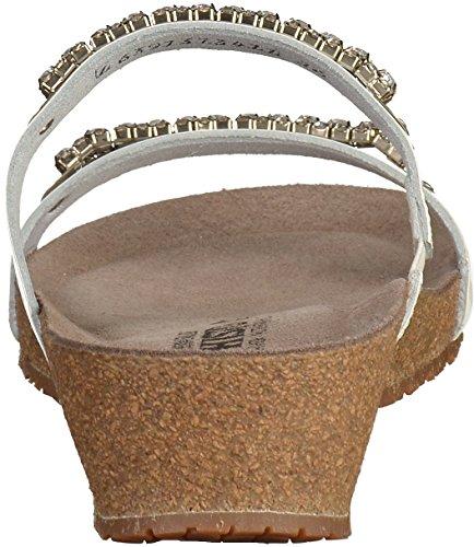 Mephisto Womens Ivana Leather Sandals Bianco