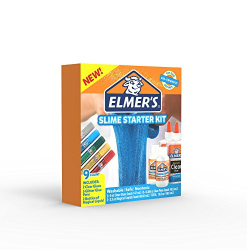 Elmer's Slime Starter Kit, Clear School Glue, Glitter Glue Pens & Magical Liquid Activator Solution, 9 Count Photo #20