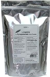 NuSci L-Arginine L-Pyroglutamate 1000g (2.2 lb, 35.2 oz) Pure Powder