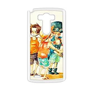 Cartoon Anime Cute White Phone Case for LG G3
