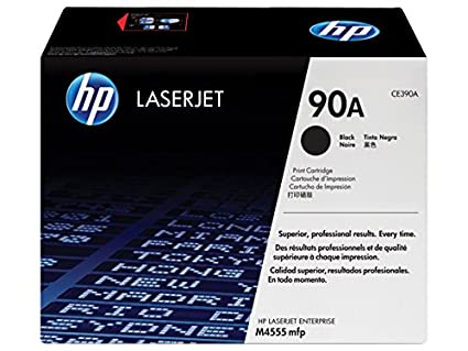 HP 90A Black Original LaserJet Toner Cartridge CE390A Toner Cartridges at amazon