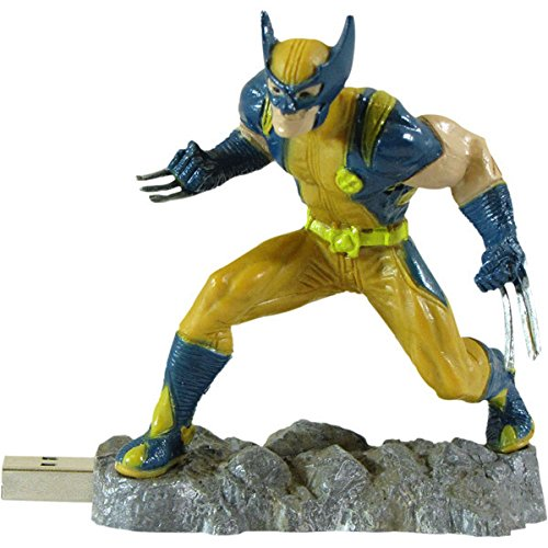 Drive 4gb Dane Usb Elec - Dane Electronics Wolverine 4 GB Flash Drive - MR-Z04GWL-C