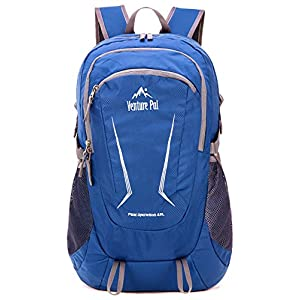 Venture Pal Large 45L Hiking Backpack - Packable Lightweight Travel Backpack Daypack for Women Men (Navy)
