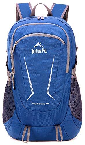 Venture Pal Large 45L Hiking Backpack – Packable Lightweight Travel Backpack Daypack Women Men (Navy)