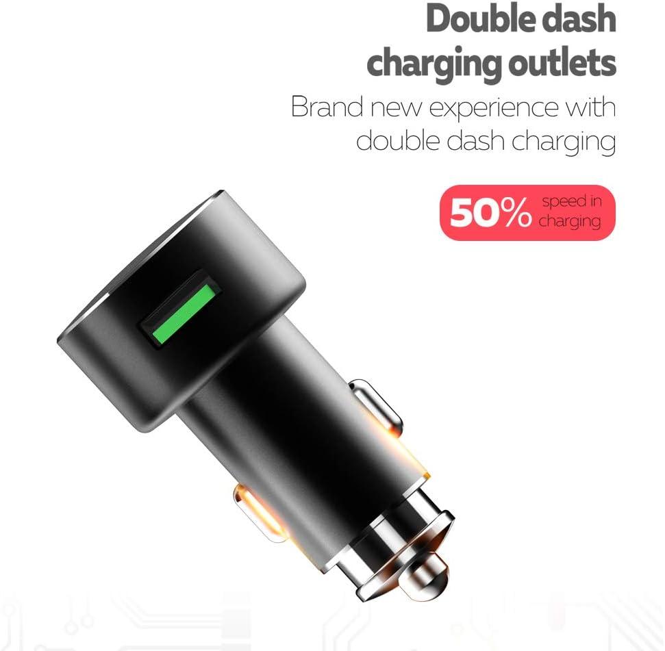 Amazon.com: CARWORD 3.6 A Dual USB Mini car Charger with USB ...
