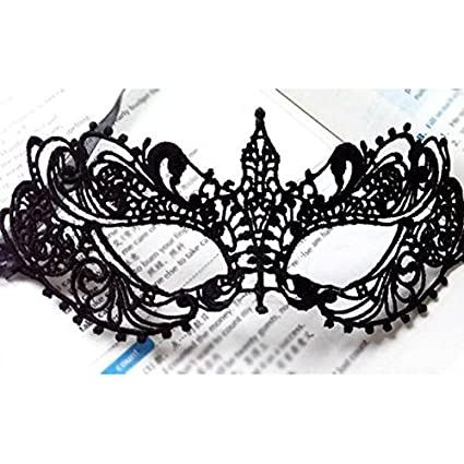 cacys store 2pcslot black sexy lady lace face mask eye mask for
