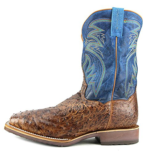 Boots Dan Brown DP4535 Mens D Freestone Ostrich 12 Square Post Western EqCxWZr6q