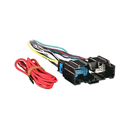 Amazon.com: Raptor GM-2105 Radio Wire Harness for Select GM ... on