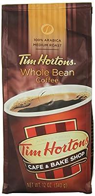 Tim Horton's 100% Arabica Medium Roast Original Blend Whole Bean Coffee, 12 Ounce