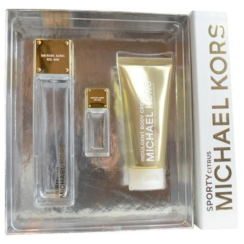 Michael Kors Sporty 3 Pc Gift Set With 3.4 Oz By Citrus For Women
