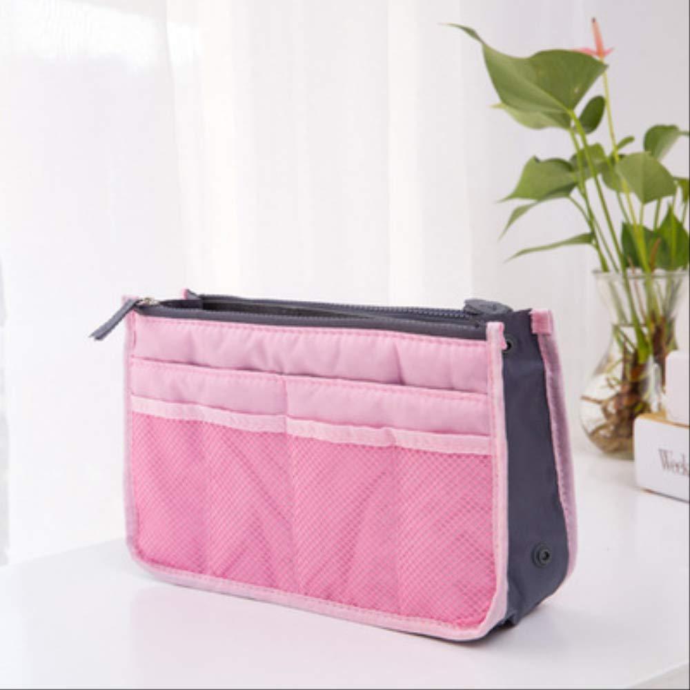 Forfait Txxzn Organisateur Insert Bag Femmes Nylon Travel Insert Organisateur Sac /À Main violet
