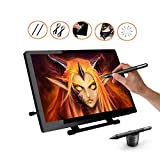 Ugee UG2150 21.5 Inches IPS Screen HD Resolution Drawing Monitor Interactive Pen Display with 2 Original Pens, 1 Drawing Glove, 1 Screen Protector