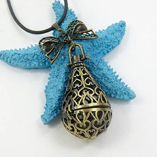 - POLPEP Neonatal Breast self Necklace Pendant Ball DIY Baby Lanugo Commemorative Collection Souvenirs (Umbilical Cord Drops Bronze Pendant - Necklace se
