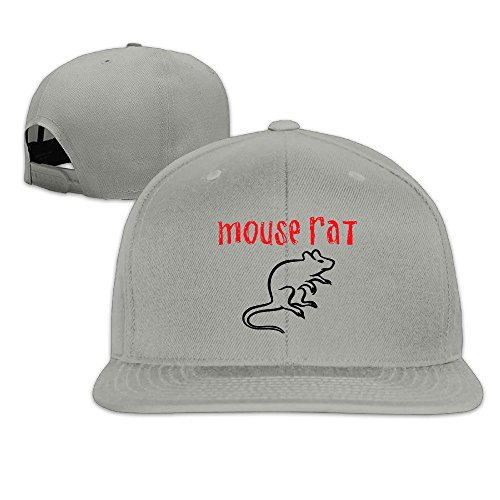 Heart Machine Embroidery (Custom Unisex-Adult Recreation Mouse Rat Circle Flat Brim Baseball Visor Cap)