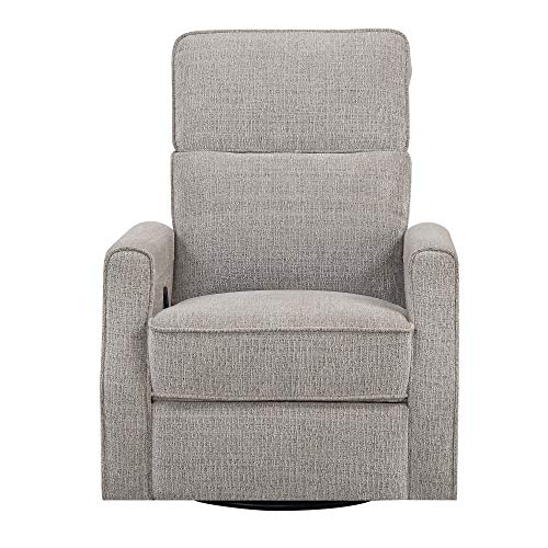Manchester Swivel - Manchester Swivel Reclining Glider in Shoreline with Swivel, Glider, And Reclining Functions, by Artum Hill