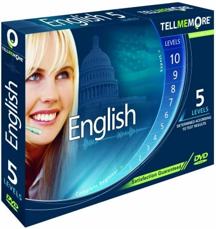 Amazon Com Tell Me More English Performance Version 9 5 Levels Old Version