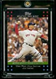 2007 Boston Red Sox LIMITED EDITION Team Edition Baseball Card # BOS51 Josh Beckett - 2007 Achievements - RED SOX - MLB Trading Card