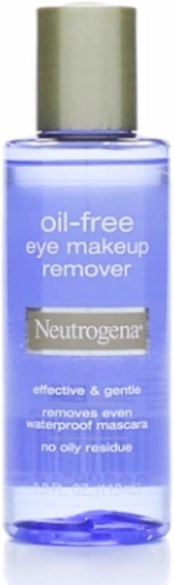 Neutrogena Oil Free Eye Makeup Remover 3.8 oz (Pack of 4)