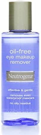 Neutrogena Oil Free Eye Makeup Remover 3.8 oz Pack of 4