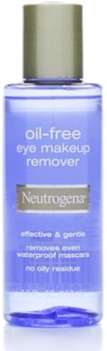 Neutrogena Oil Free Eye Makeup Remover 3.8 oz (Pack of 5)