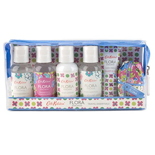 Cath Kidston Flora Hyacinth Travel Essentials (PACK OF 6) by Cath Kidston